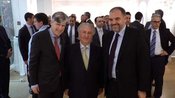 Αλέξανδρος Σαρρηγεωργίου, Πρόεδρος ΕΑΕΕ και Διευθύνων Σύμβουλος της Eurolife ERB Ασφαλιστικής, Ευάγγελος Σπύρου, Σπύρος Μαυρόγαλος, Διευθύνων Σύμβουλος της Εθνικής Ασφαλιστικής