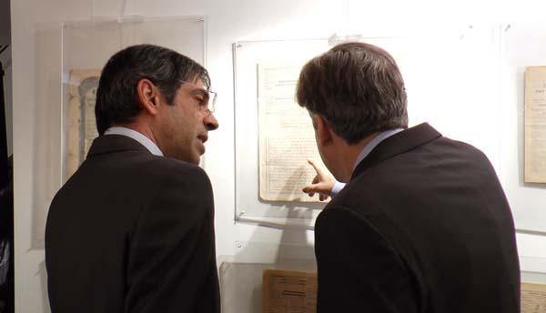 Ερρίκος Μοάτσος, Διευθύνων Σύμβουλος της AXA Ασφαλιστικής, Αλέξανδρος Σαρρηγεωργίου Διευθύνων Σύμβουλος της Eurolife ERB Ασφαλιστικής