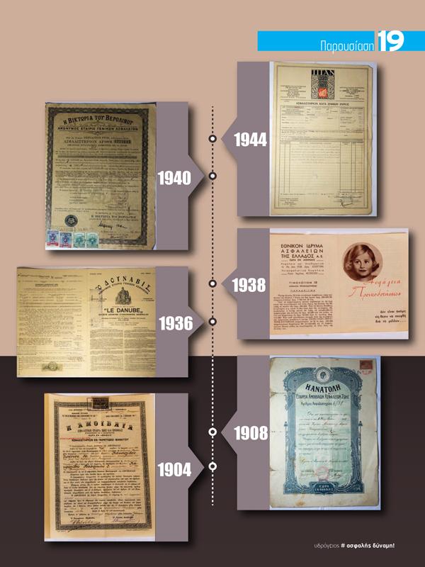 Ασφαλιστήρια με Ιστορία και Καλλιτεχνική Αξία