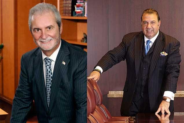 Ο John Calamos και ο John Koudounis στο συνέδριο της Capital Link στην Αθήνα!