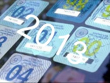 Πως θα πληρώσετε τα τέλη κυκλοφορίας του 2013