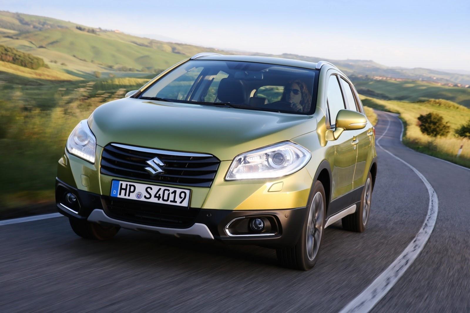 Διάκριση αξιοπιστίας για το Suzuki S-Cross