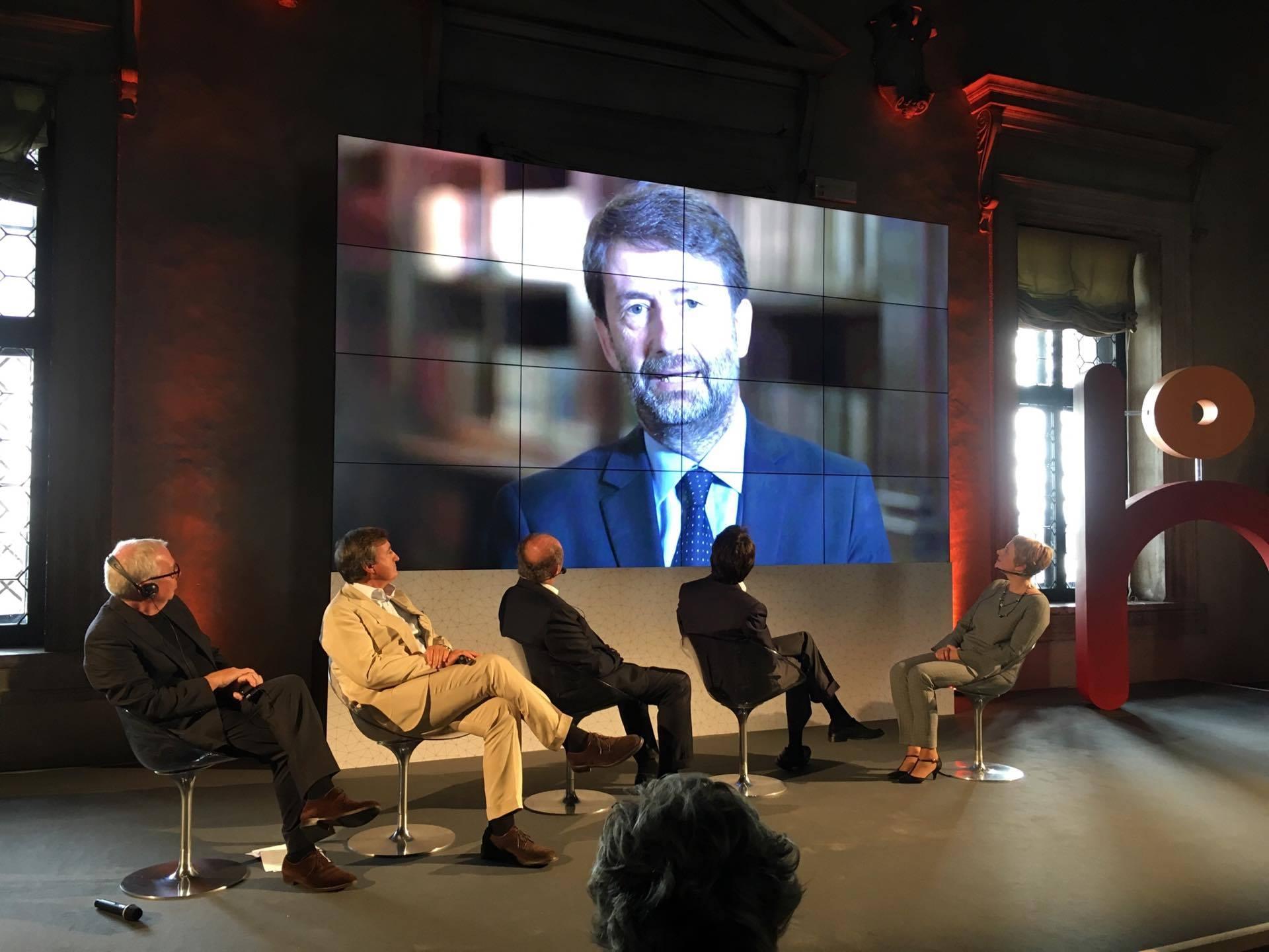 Ο κ. Dario Franceschini, Υπουργός Πολιτιστικής Κληρονομιάς και Τουρισμού Ιταλίας