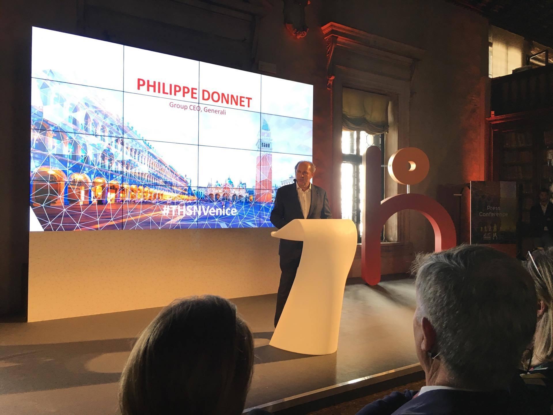 Ο κ. Philippe Donnet, Διευθύνων Σύμβουλος Ομίλου Generali