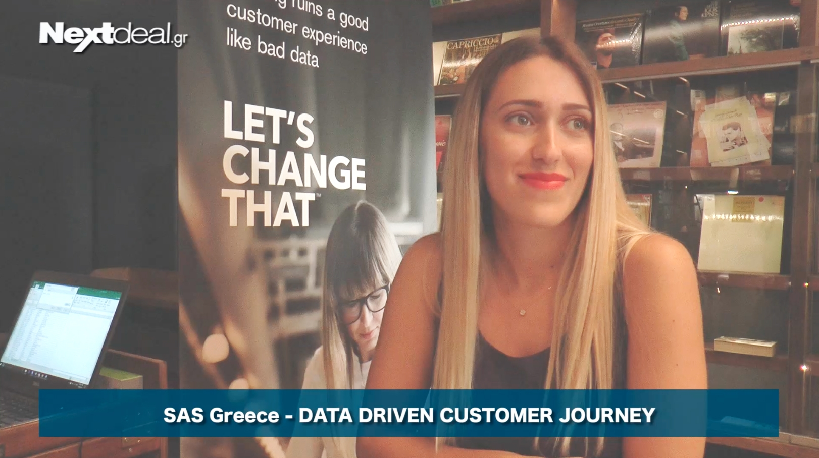 SAS Ελλάδας: Data Driven Customer Journey - Surprise your customer with a unique & personalized customer experience