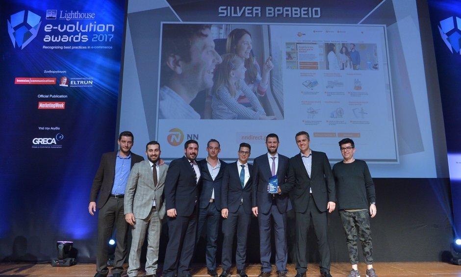 48e0e987eed4 ΝΝ Hellas  Τριπλή διάκριση στα Lighthouse e-volution awards για το NN  Direct Health