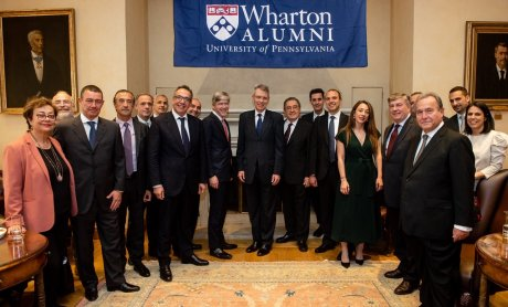 Ο Geoffrey Pyatt στο 4ο Leadership Forum του The Wharton Alumni Club of Greece