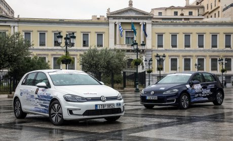 "Το Volkswagen e-Golf θριαμβεύει στο ""Hi-Tech EKO Mobility Rally 2019"""
